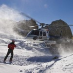 stop heliskiing at the marmolada