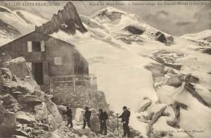 Cabane-refuge des Grands Mulets Source: Paul C. Maurice