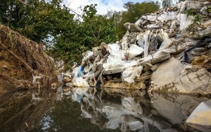 Construction waste in the countryside in Sochi in October 2013. Thomas Peter/Reuters/Landov