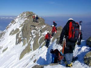 Ridge from Peñalara peak to Claveles peak