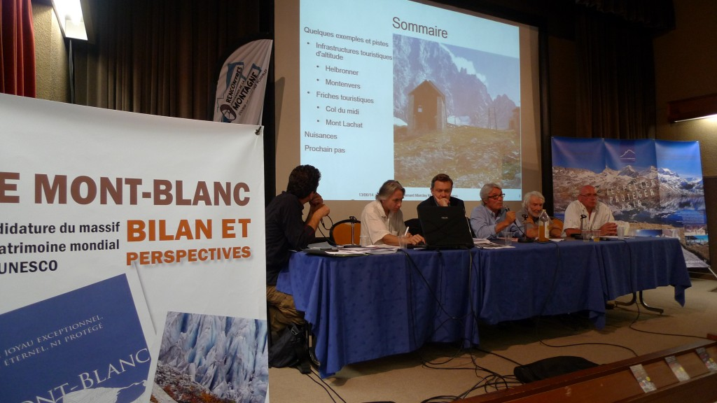 Citizen meeting on Mont-Blanc protection