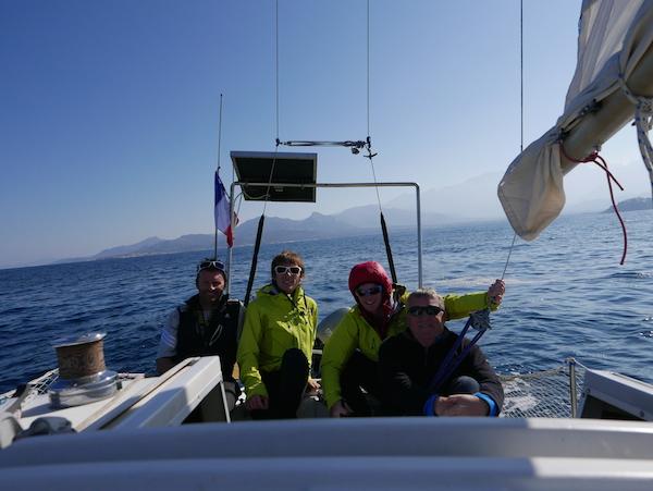 Pascal Joly, Yann, Yoann, Christian Le Texier and Corsica moving away…