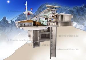 Helbronner Upper Station (Cordée Mont Blanc)