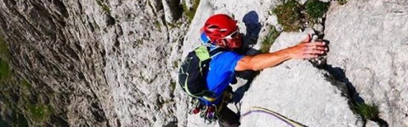 The Alpine Line in the Dolomitis