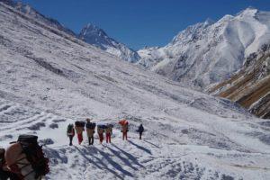 Seti Gorge trekking trail tourism, Nepal