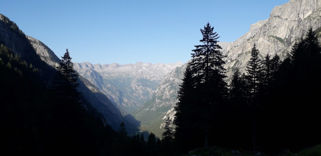 View of Val di Mello