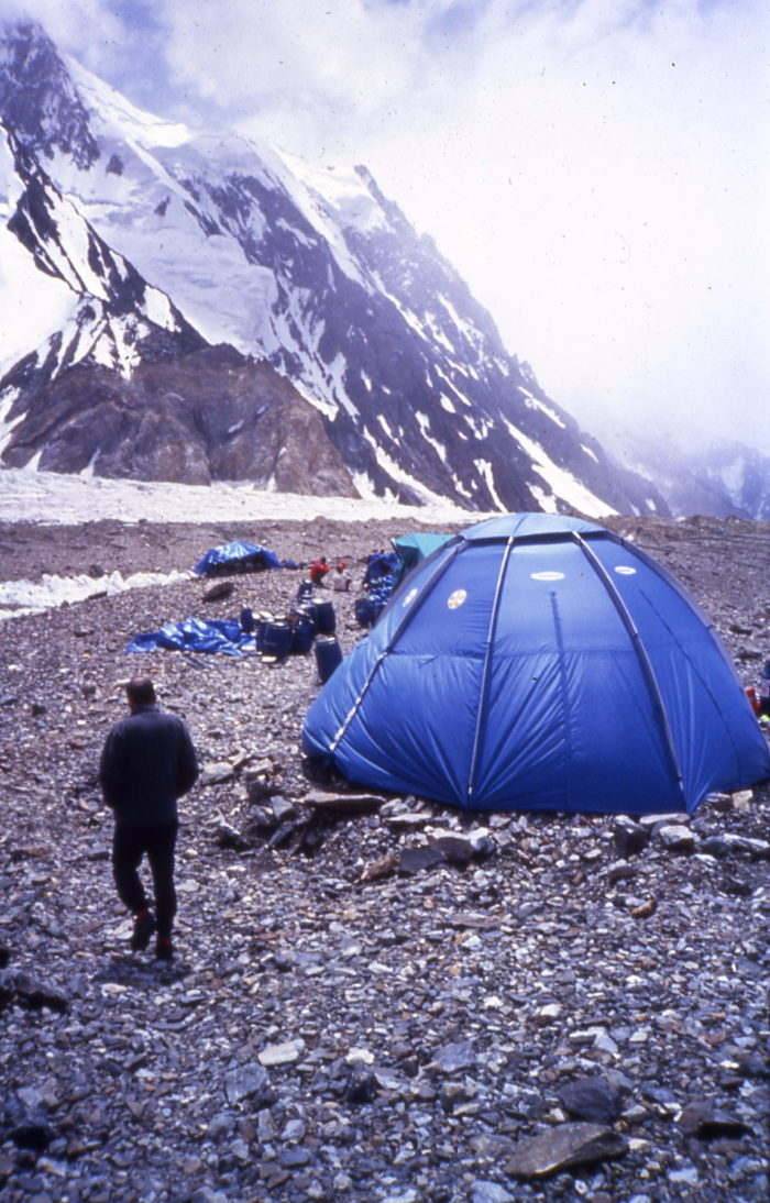 Free K2 cleaning action - Base camp.