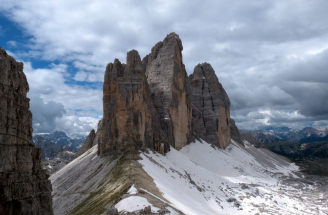 Three Peaks of Lavaredo. Picture by Sergio Ruzzenenti