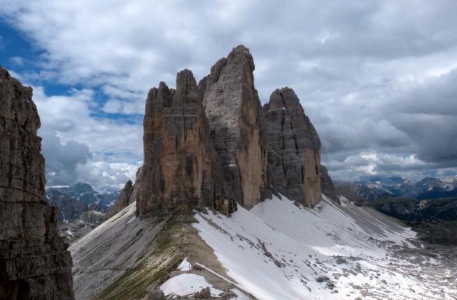 Three Peaks of Lavaredo. Picture by Sergio Ruzzenenti