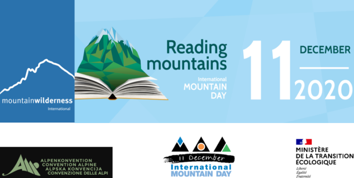 Reading mountains - International Mountain Day 2020