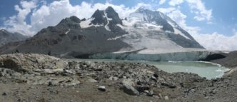Thalo Valley and glaciers